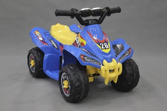 Elektriskais bērnu kvadricikls Vipex ATV AK009, 6V 4,5Ah