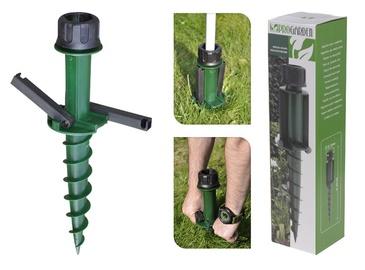 Saulessarga kāja, zaļa