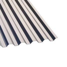 Laineline valgusplaat polükarbonaat trapets, 76/18 0,9x2m, pronks