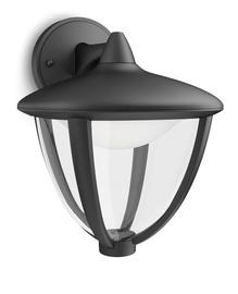 Āra sienas lampa Philips Robin LED 4,5W 230mm, melna