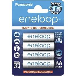 Lādējamās baterijas Eneloop AA 1900MAH, 4 gab.