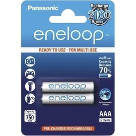 Lādējamās baterijas Eneloop AAA 750MAH, 2 gab.