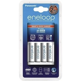 Bateriju lādētājs Eneloop BQ-CC16+4X1900