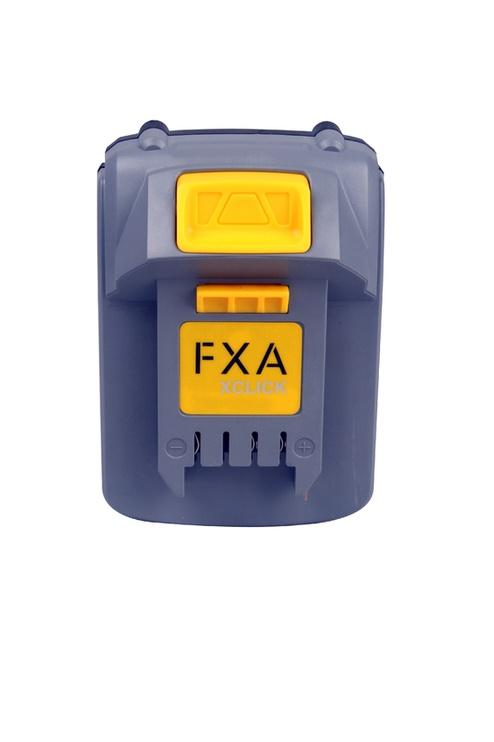 Aku FXA Xclick, 18 V, 2 Ah, Li-Ioon