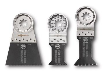 Saeterade komplekt Fein Multimaster E-Cut, ristlõige, 3tk