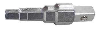 Radiaatori reguleerimise võti BGS Technic, 3/8''- 1/2''