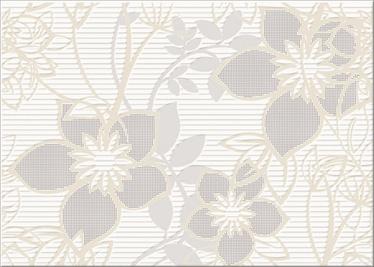Flīzes dekors Cersanit Calvano 25x35cm, brūns/pelēks