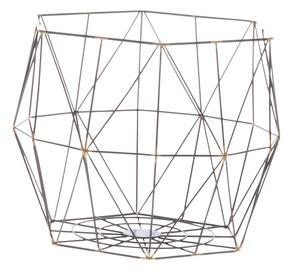 Metāla grozs Diamonds 34x34x28cm