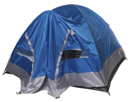 Telts, trīsvietīga