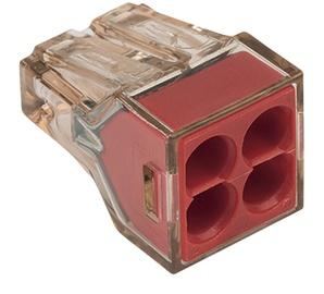 Klemm Wago 4x1,5-4mm² 32A 5tk
