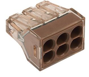 Klemm Wago 6x1,5-4mm² 32A 5tk