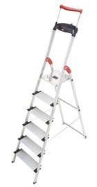 Alumīnija kāpnes ComfortLine XXR EasyClix, 6 pakāpieni