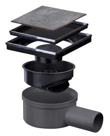 Põrandatrapp, 149x149, 50mm, horisontaalselt plaaditav