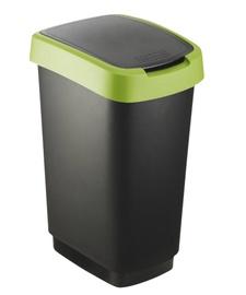 Atkritumu tvertne Rotho Twist 25L, zaļa