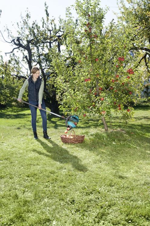 Puuviljakorjaja + puitvars Gardena Combisystem
