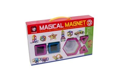 Magnetinis konstruktorius, 40 detalių