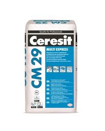 Elastingi greitai kietėjantys plytelių klijai CM29, 25 kg