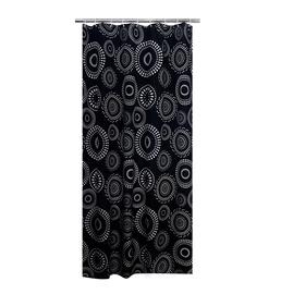 Vonios užuolaida Ridder Fireworks, 200x180 cm, juoda