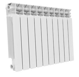 Alumīnija radiators G500F 10 ribas