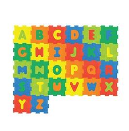 """Bērnu paklājiņš-puzle """"Alfabēts"""", 26 gab."""