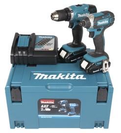 Akutööriistade komplekt Makita DLX2141AJ, 18 V, 2 x 2 Ah Li-Ioon