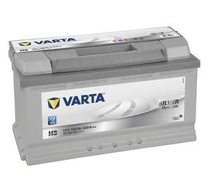 Autoaku Varta 600402083 H3 100AH/830A EN