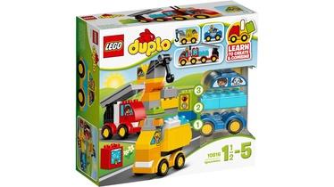 Konstruktorius LEGO Duplo, Mano pirmieji automobiliai ir sunkvežimiai 10816