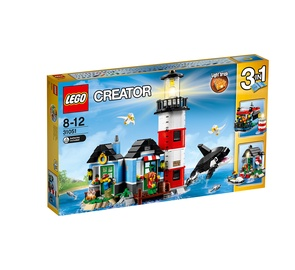 LEGO CREATOR LIGHTHOUSE POINT 3IN1
