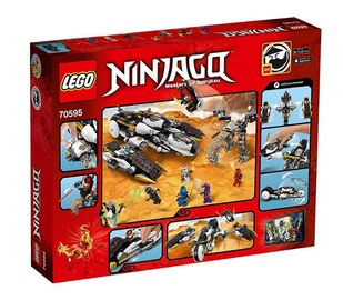 """KONSTRUKTORIUS """"LEGO NINJAGO 70595: ULTRA SLAPTAS PLĖŠIKAS"""""""