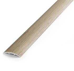 Katteliist, alumiinium, B1, 1,8 m, hele tamm