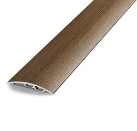 Katteliist, alumiinium, B50, 1,8 m, vanutatud tamm