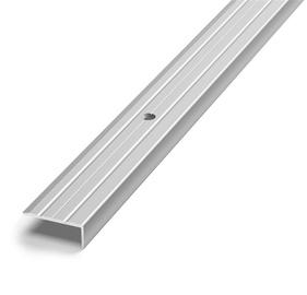 Liist, alumiinium, 0,9 m, D1, hõbe