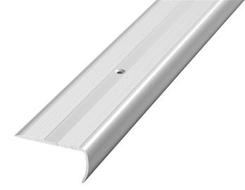 Liist, alumiinium, 0,9 m, D13, hõbe