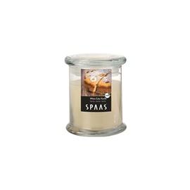 Lõhnaküünal Spaas ca 60 h, vaniljekook, klaasümbrisega