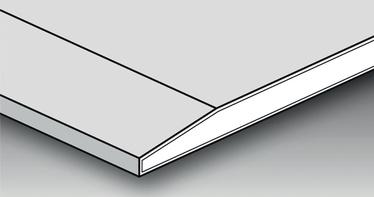 Kipsplaat Norgips GKB 13 Standard 1,2x2,6m