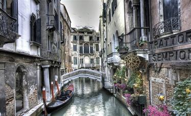 Fototapete ar Venēcijas skatu, 2.54x1.84 m