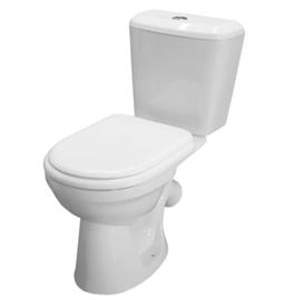 WC tualetes pods ar skalojamo kasti un vāku City Lux