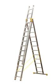 Alumīnija kāpnes Itoss Forte 8612 356-865cm, 3x12 pak.