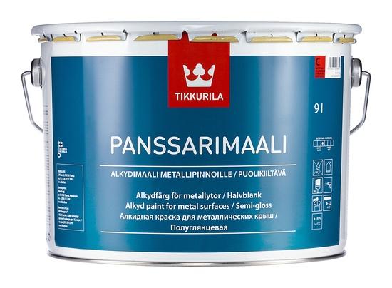 Krāsa jumtiem Tikkurila Panssarimaali, 9 l, C-bāze