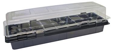 Minikasvuhoone Vefi, 18 potiga, 47x16cm