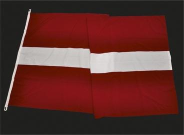 Latvijas Republikas karogs 100x200cm, mastam