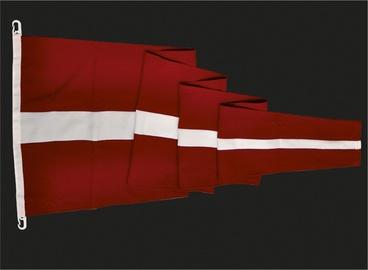 Latvijas Republikas karoga vimpelis 200x58cm, mastam