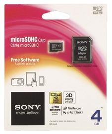 MÄLUKAART MICRO SDHC 4GB KLASS 4 SONY