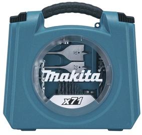 Makita D-47145 piederumu komplekts, 71 gab.