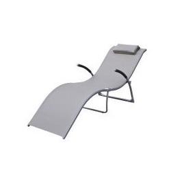 Atpūtas krēsls Vuitton, pelēks
