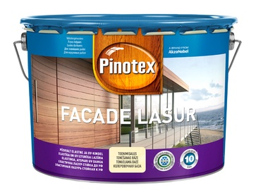 Puidukaitsevahend Pinotex Facade Lasur, värvitu, 10L