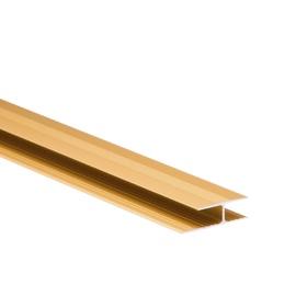 Ühendusliist AL-P.P, 29 mm, 2 m, kuldne