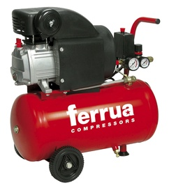 Kompressor Ferrua RC2, 24L, 1,5kW, 8bar