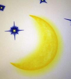 Rulookardin Moonlight I, 180x170 cm