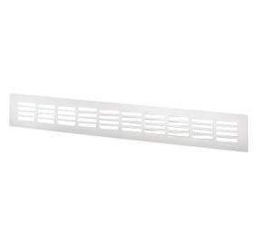 Ventilatsioonirest Prof, 400x60mm, valge